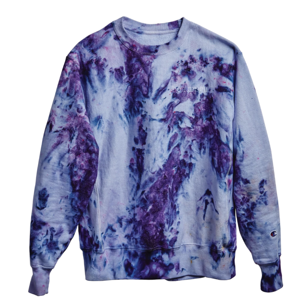 Bon Appetit Merch Ice Dyeing Sweatshirts Champion Reverse Weave Sweatshirt [ 1000 x 1000 Pixel ]