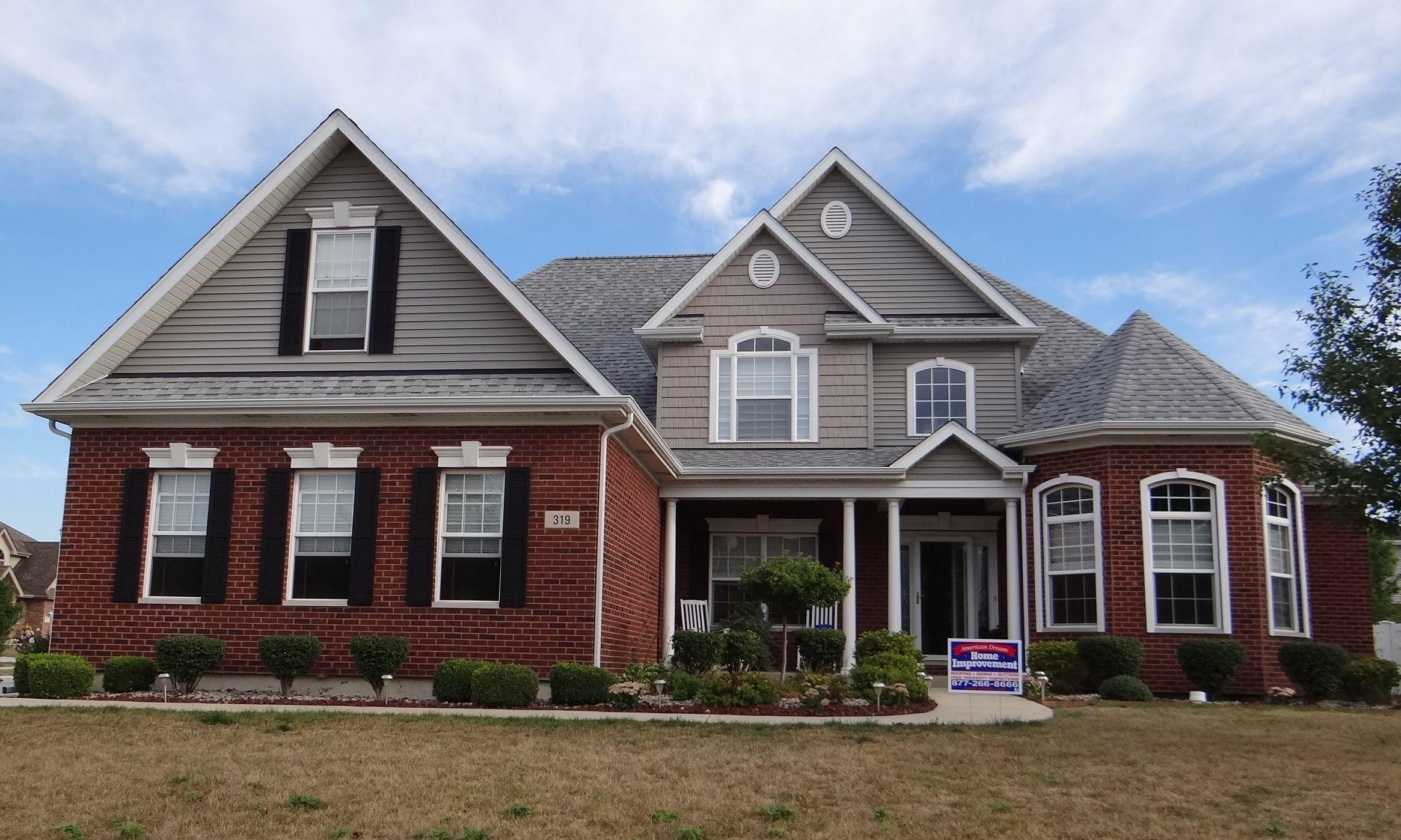 Best Owens Corning Oakridge Sierra Gray Shingles Roof 640 x 480