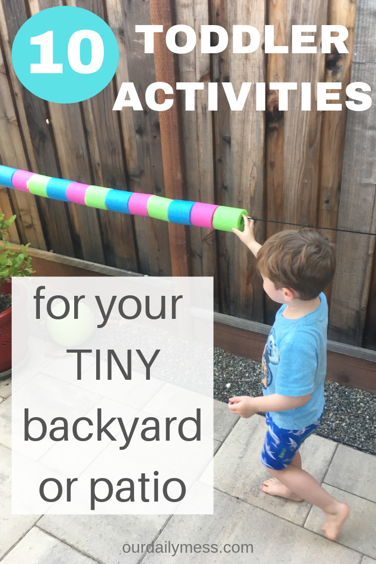 10 Kid-Friendly Ideas for Your Tiny Backyard | Toddler ...