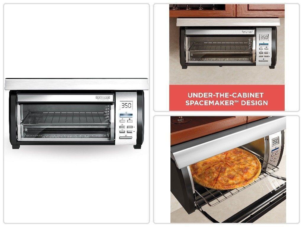 Black Decker Spacemaker Toaster Oven Broiler Under Cabinet
