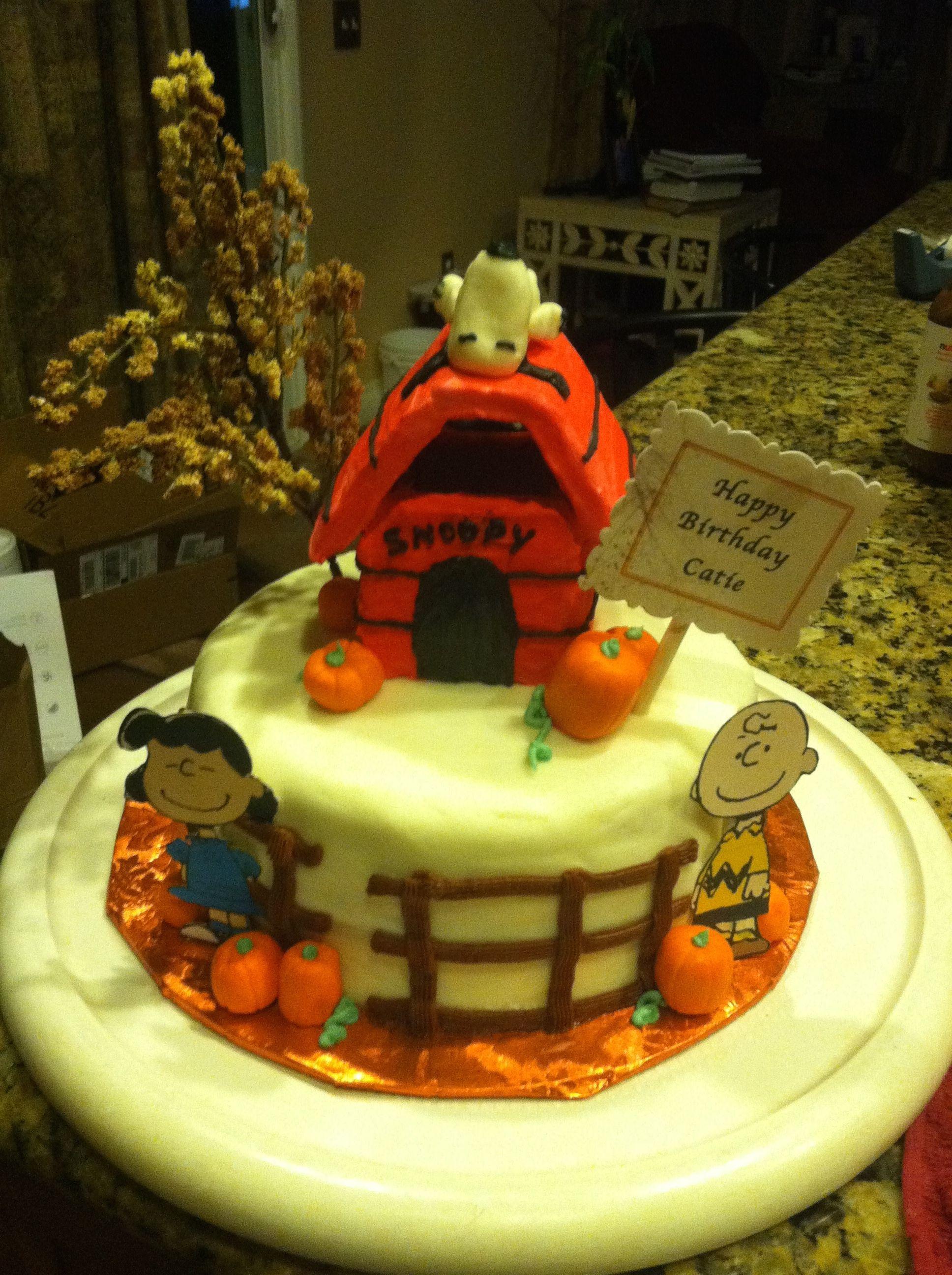 Snoopy Harvest Theme For A Birthday