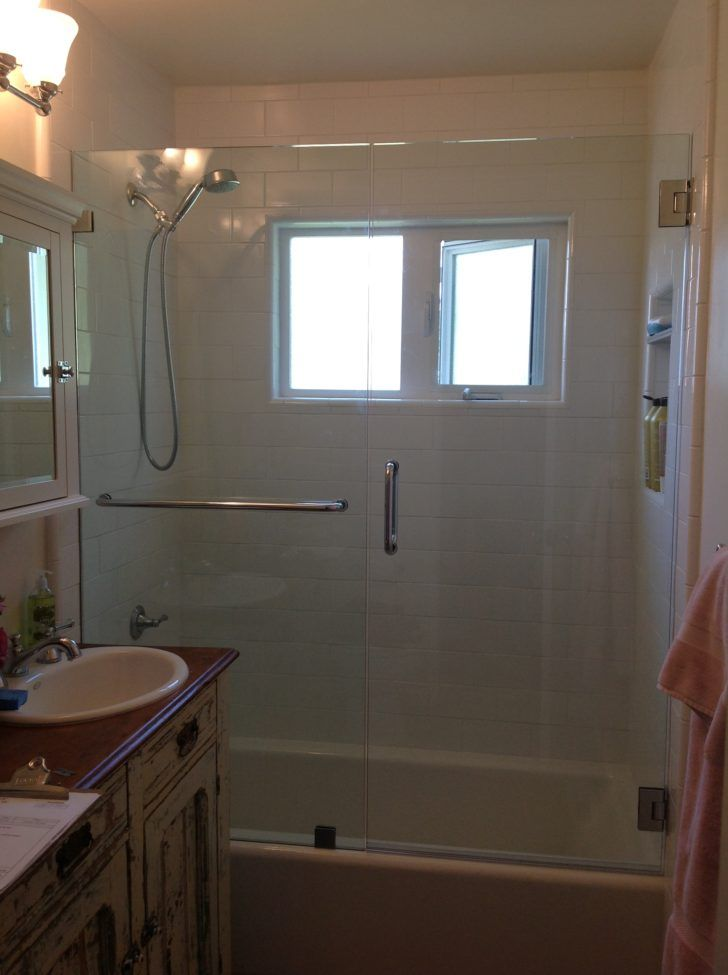 White Bathtub With Glass Door Connected By White Wall Tile Shower Doors Sliding Shower Door Bathtub With Glass Door