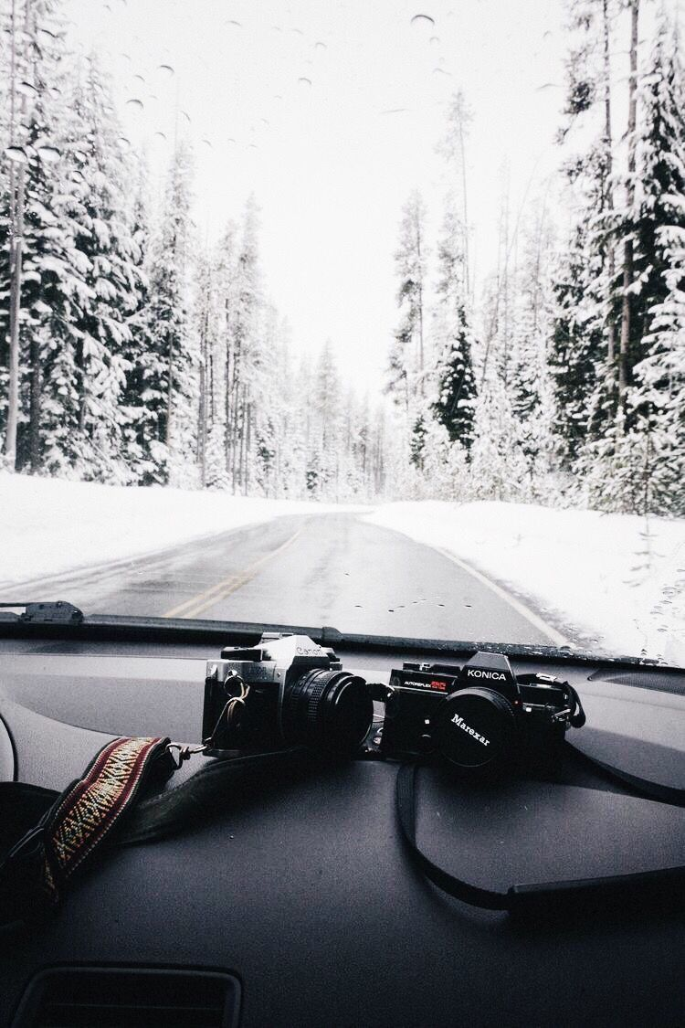 Photo of Winter Drive #christmasaesthetic On a trip into the beautiful winter wonder …