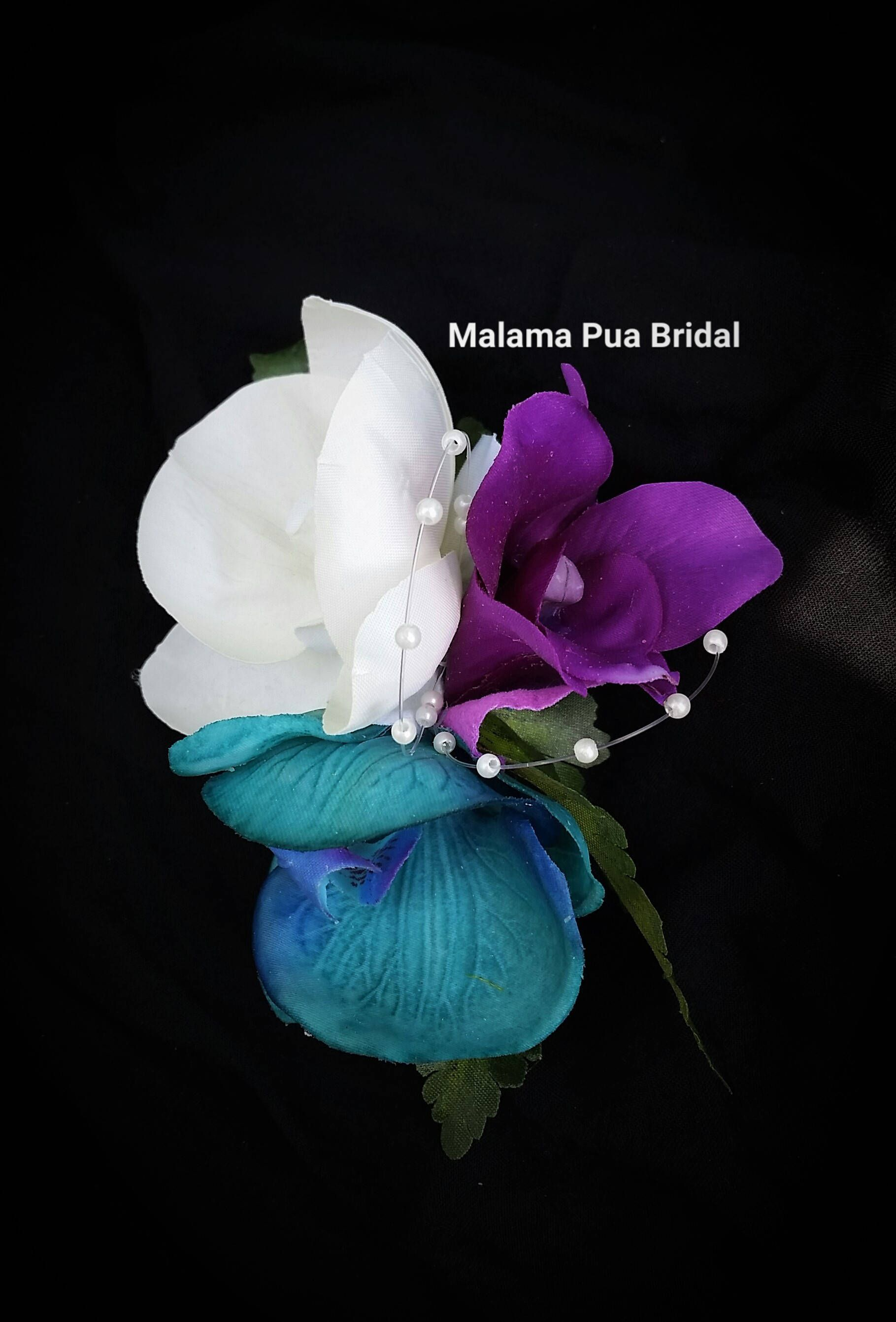 Bridal Hair Flower Hair Accessory Wedding Headpiece Silk Flower