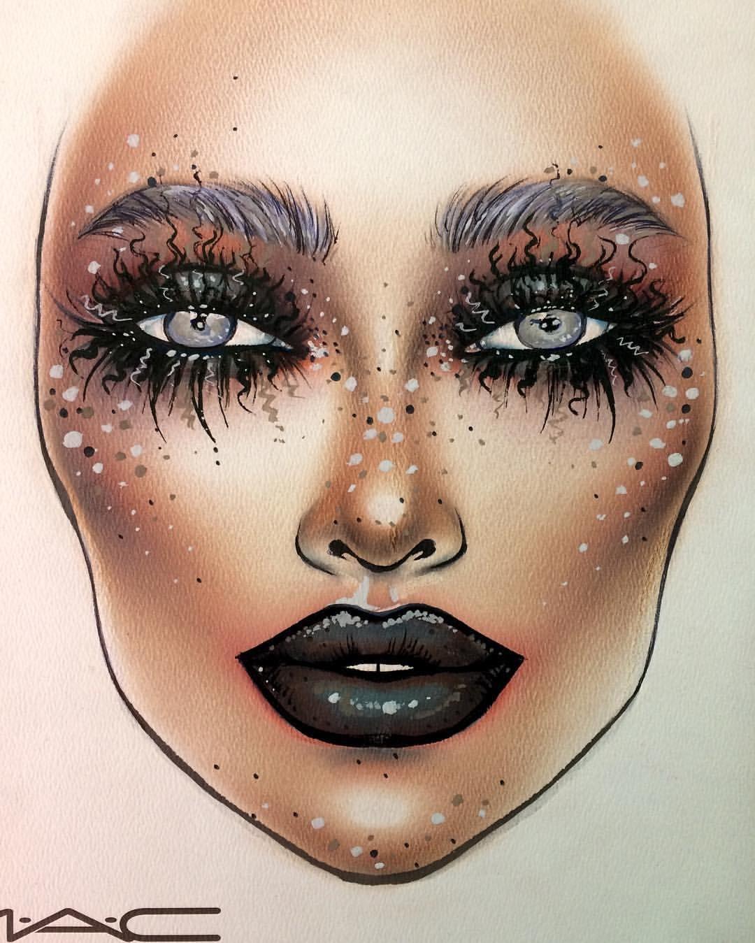 maccosmetics0 on Makeup face charts, Makeup charts