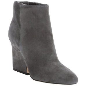 Jimmy Choo Mist suede 'Myth 90' wedged ankle boots
