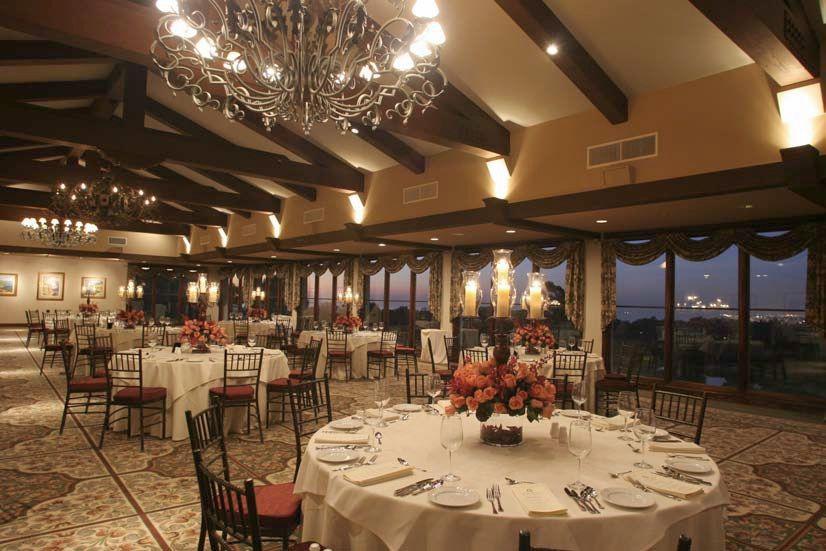 The Grand Ballroom At Palos Verdes Golf Club Ocean And City Light Views Of