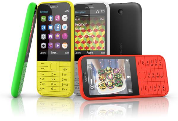 Nokia 225, barato, colorido e com Dual Sim Xa das 5