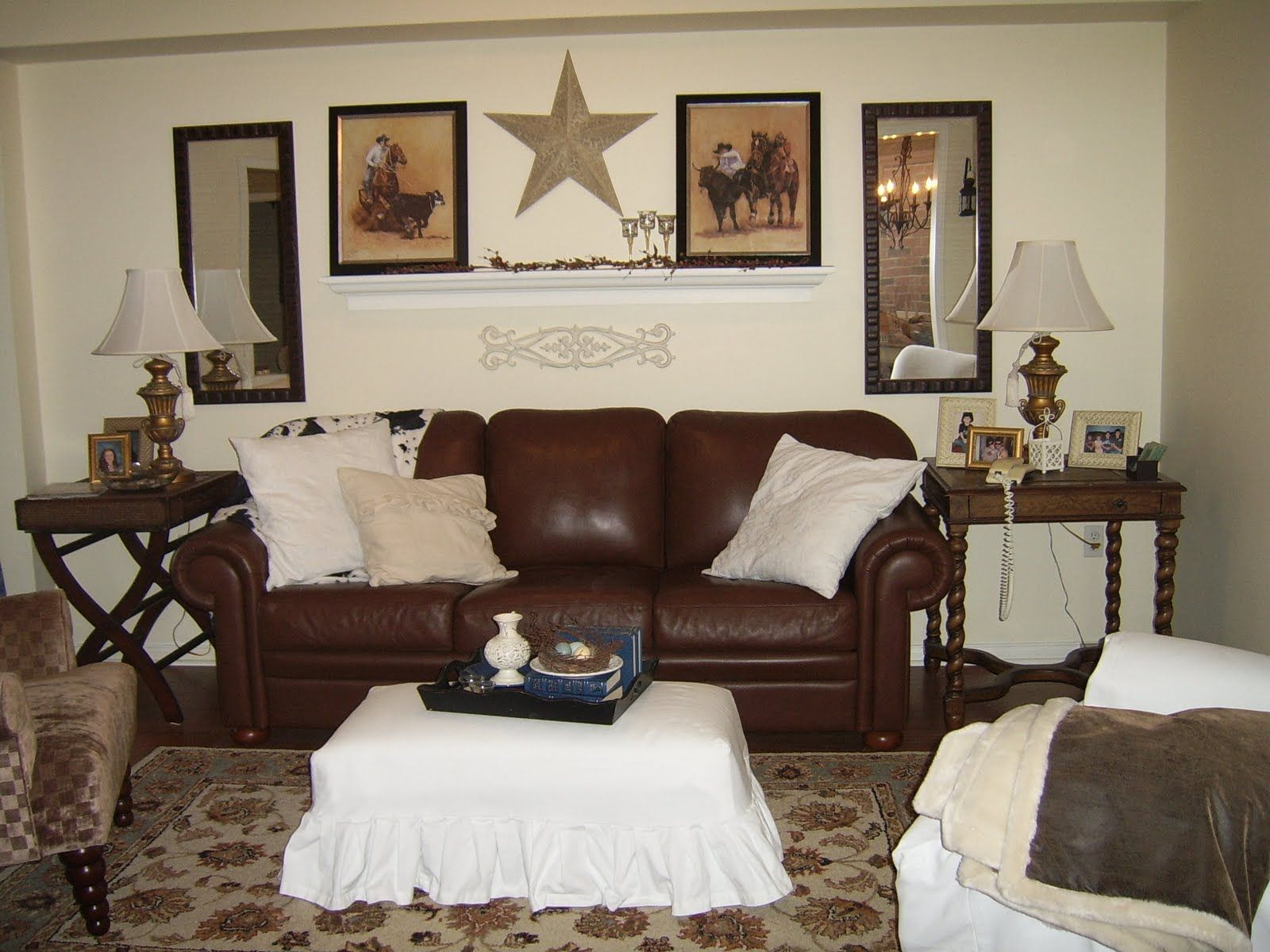 Image result for pewter family room brown couches