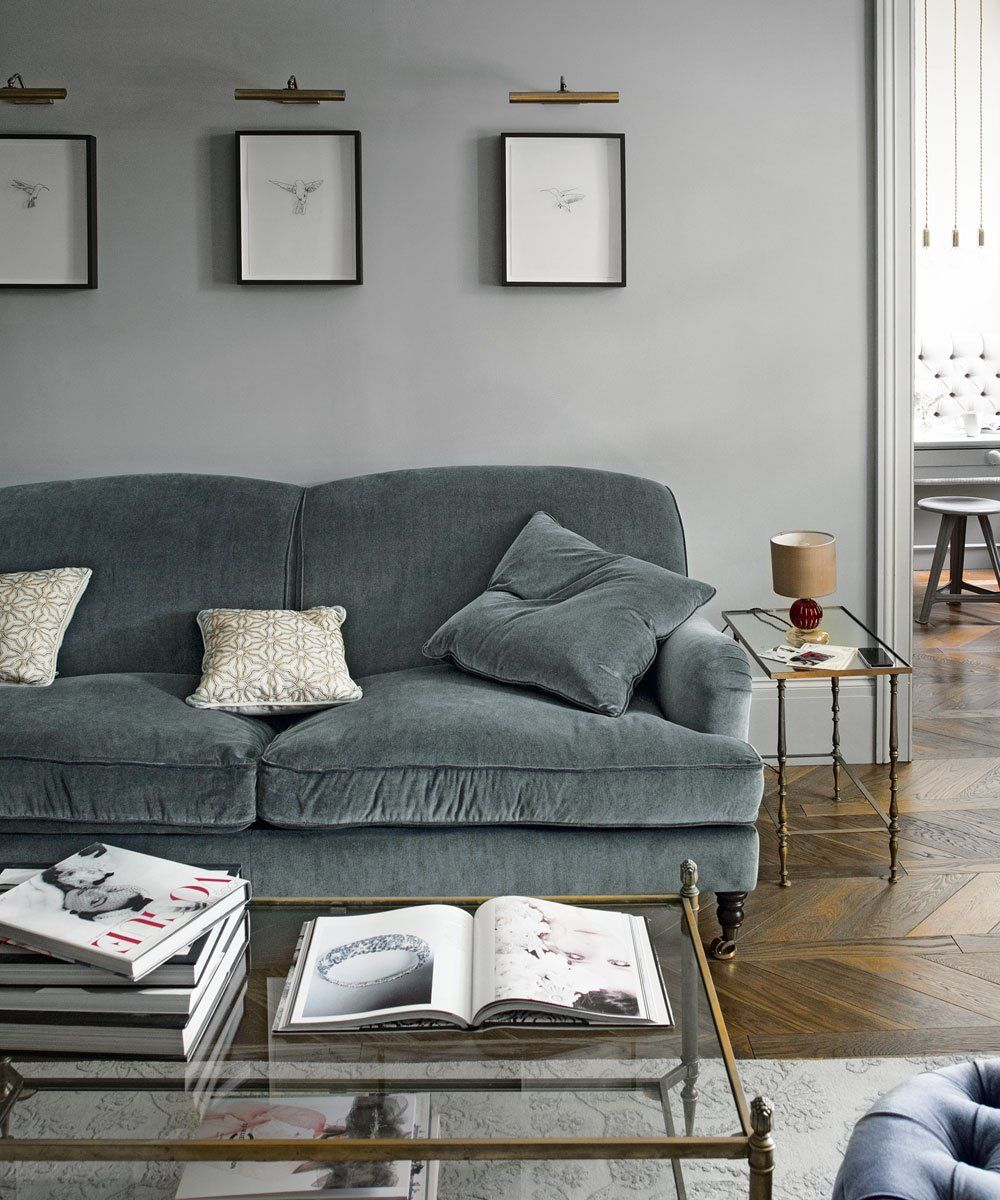 Colour Series Steel Grey Sunday Fawn Interior Design Hampshire Surrey Sussex London Wiltshire Grey Walls Living Room Living Room Grey Gray Living Room Design