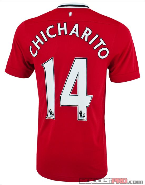 Nike Manchester United Chicharito Home Jersey 2011-2012... 84.99 ... c5440fff25c42