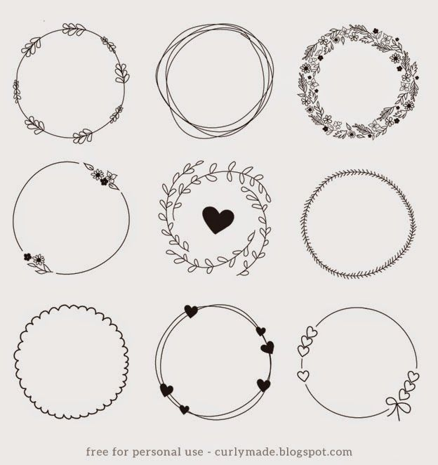 Photo of Tutorial – Hand Drawn Wreath Download (Totally Tutorials)