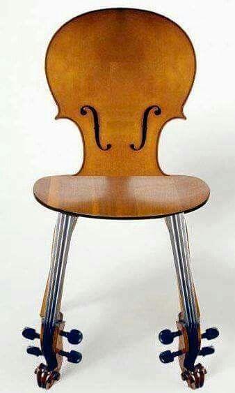 Cello Chair By Thwart Design #music #diy #decoration