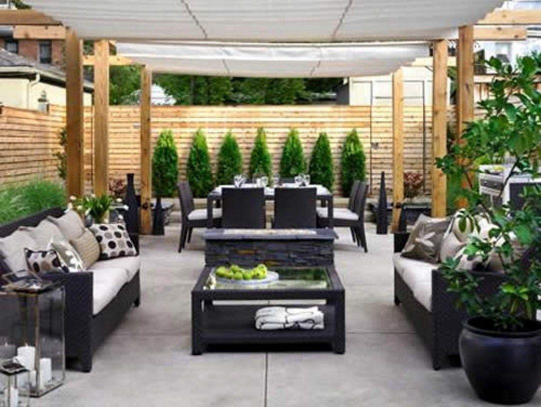 50 fantastic small patio ideas on a budget (16) | garden ... - Pinterest Small Patio Ideas