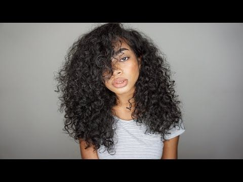 Wash Amp Go Curly Hair Routine 3a 3b Hair Great For Dry