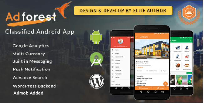 AdForest v2 0 1 - Classified Native Android App - [Nulled