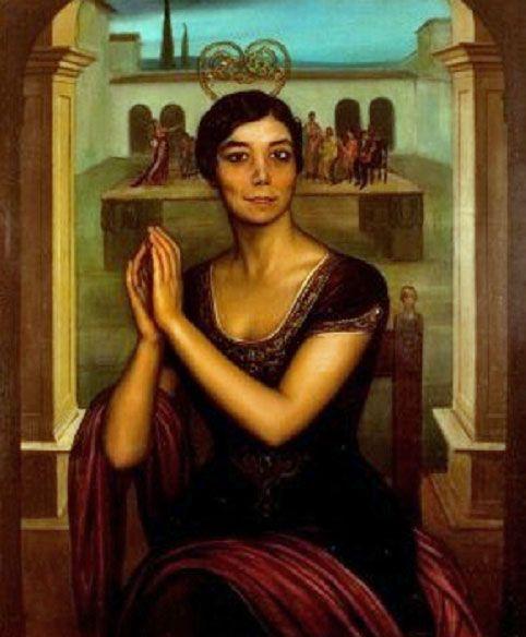la niña de los peines | julio romero de torres 1874-1930