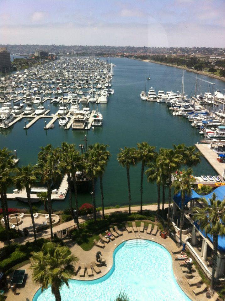 Sheraton San Diego Hotel & Marina. Close To The Beach