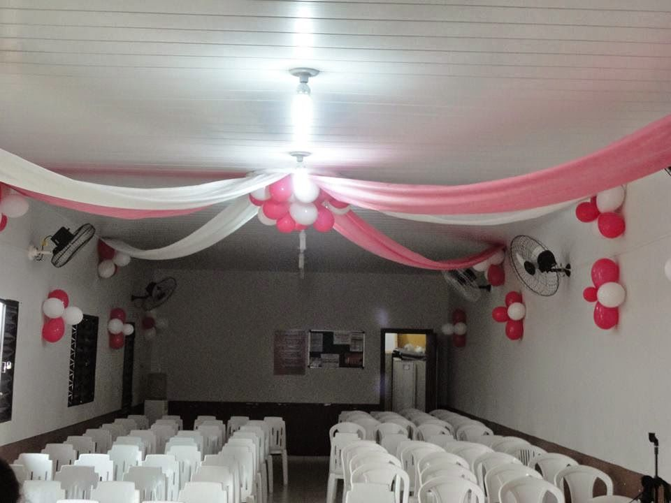 Resultado de imagem para decoraç u00e3o para igreja evangelica com tnt decorac u00e3o Decoraç u00e3o de  -> Como Decorar Um Teto Com Tnt