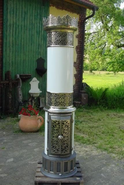 d nischer salon s ulenofen aus gusseisen um 1920 funktionsf hig vintage stoves pinterest. Black Bedroom Furniture Sets. Home Design Ideas
