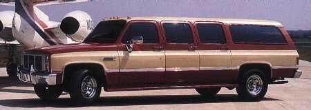 Chevrolet Suburban 6 Door Airport Limousine by Armbruster/Stageway