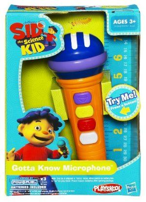Sid The Science Kid Microphone With Sounds And Music By