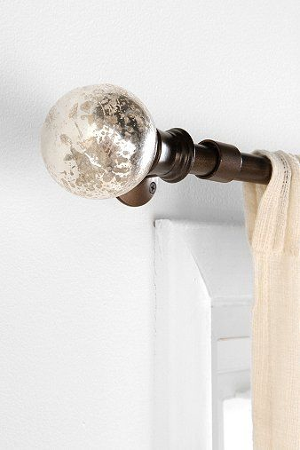 Pin By Lauren Jolly On For The Home Finials For Curtain Rods