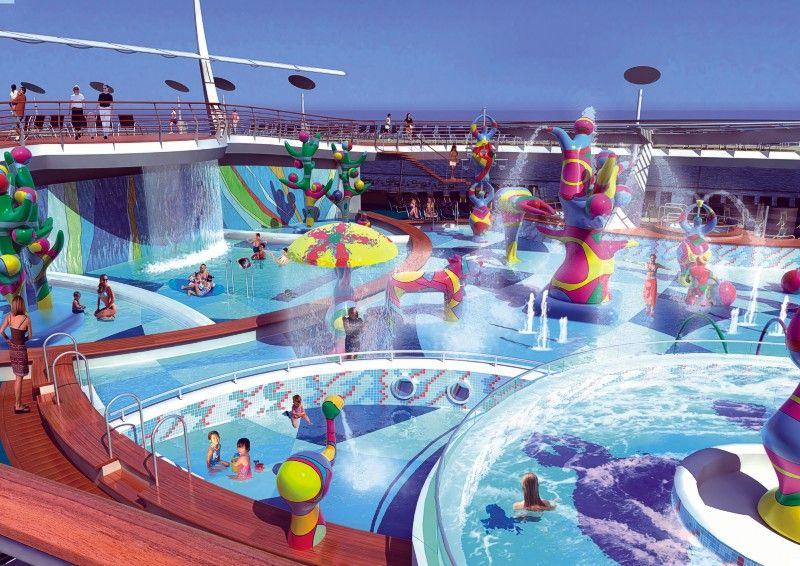 Water Parks Top Ten Water Parks In The United States Top X - Best waterslides on cruise ships
