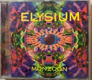 ELYSIUM - MONZOON Preowned Cd - Oldschool Goatrance 1996 in 2019