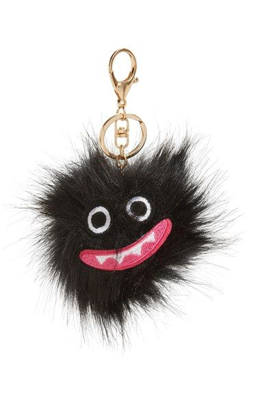 da6883a21327 Free shipping and returns on Topshop Monster Faux Fur Key Ring at  Nordstrom.com.