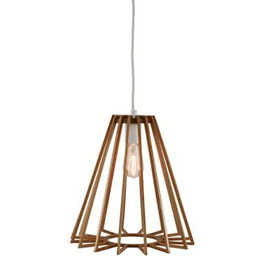 Pendant Ceiling Light with Wood Triangle Shade - jcpenney @Roxanne ...