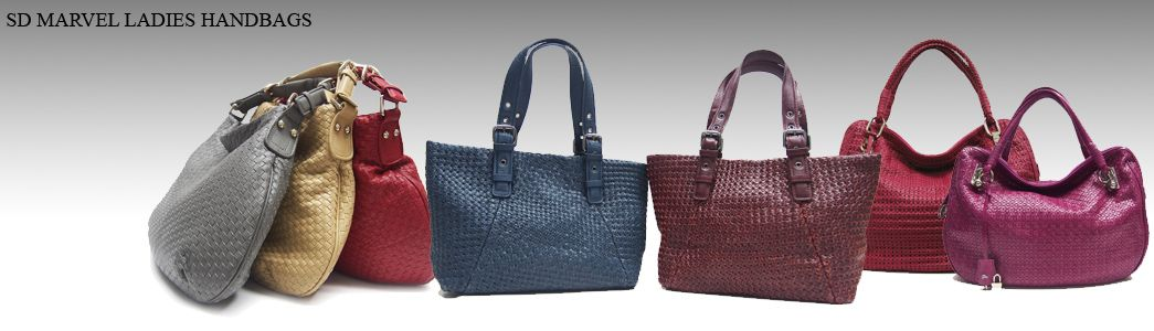 SD MARVEL HANDMADE WOVEN LEATHER HANDBAGS COLLECTION