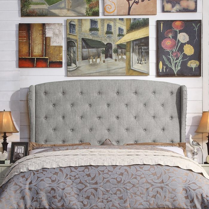 Nielsen Upholstered Wingback Headboard | For the Home | Pinterest