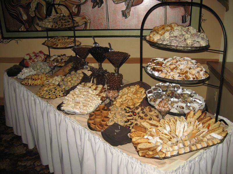Popsugar Cookie Table Cookie Table Wedding Wedding Cookies