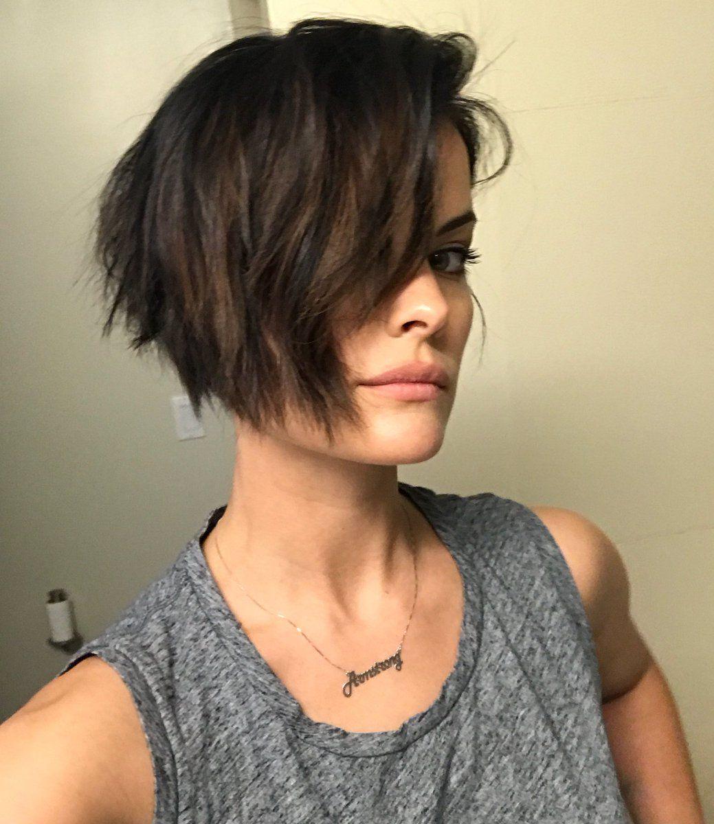 Pin By April B On Hair Beauty Jaimie Alexander Jamie Alexander Hair Short Hair Styles