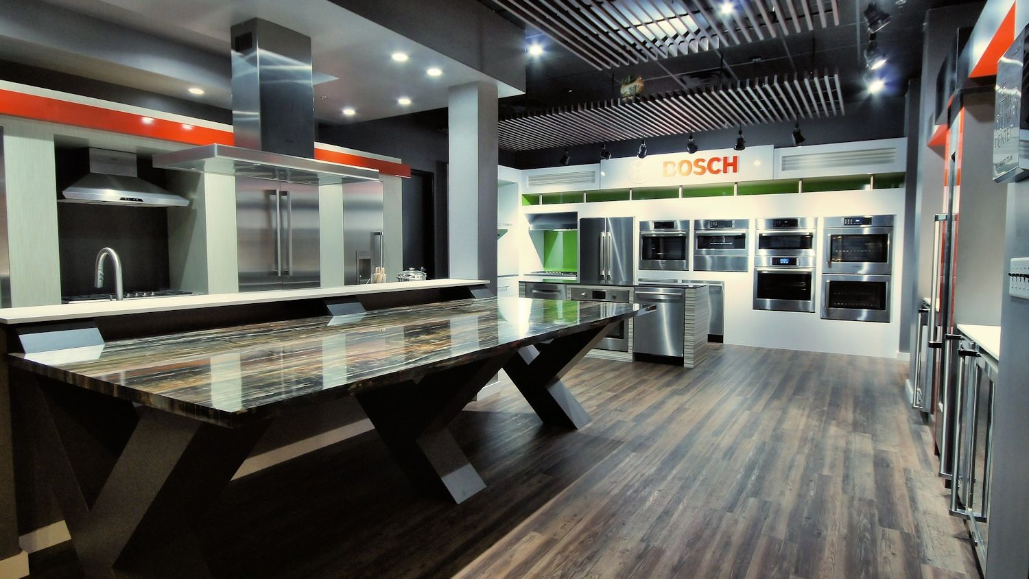 Thermador appliance showroom google search kitchen for Kitchen showrooms