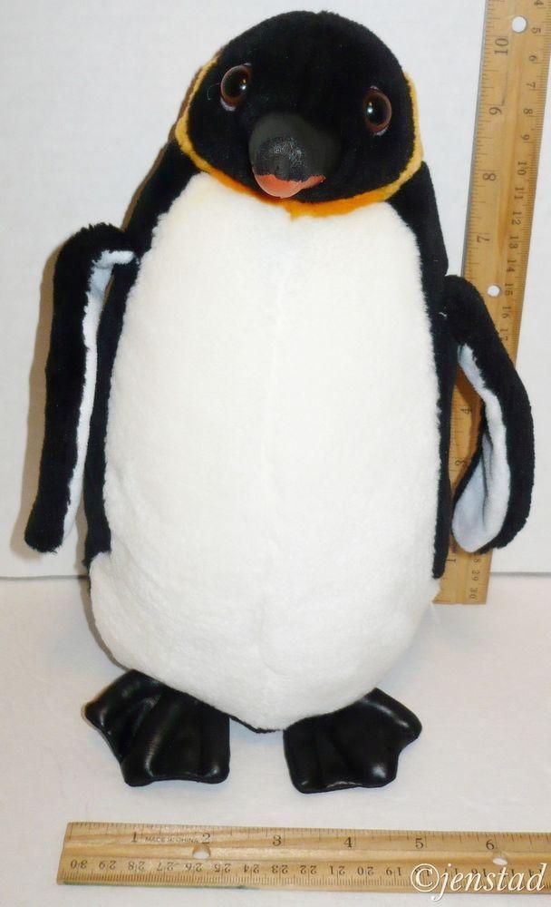 Seaworld Emperor Penguin Plush 11 High Quality Stuffed Animal Toy
