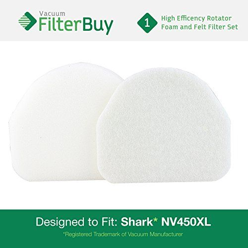 #manythings  High quality foam and felt filter kit designed to fit fit #Shark Rocket Professional Bagless Upright #NV480 vacuum cleaners. Improves overall perform...