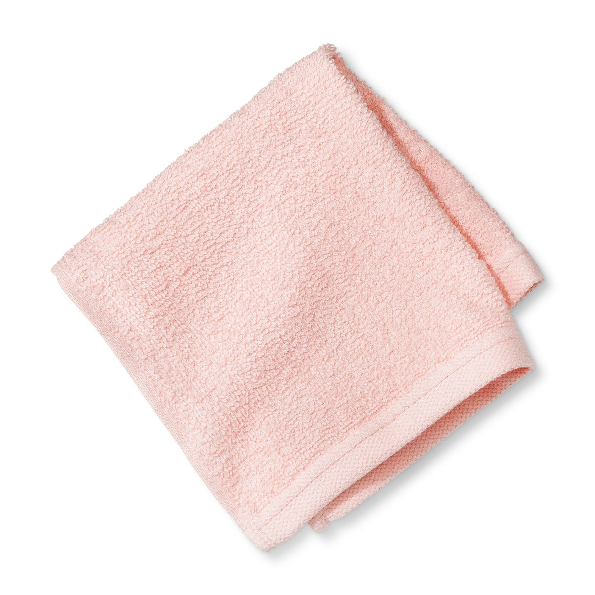 Bath Towels And Washcloths Loring Pink - Room Essentials