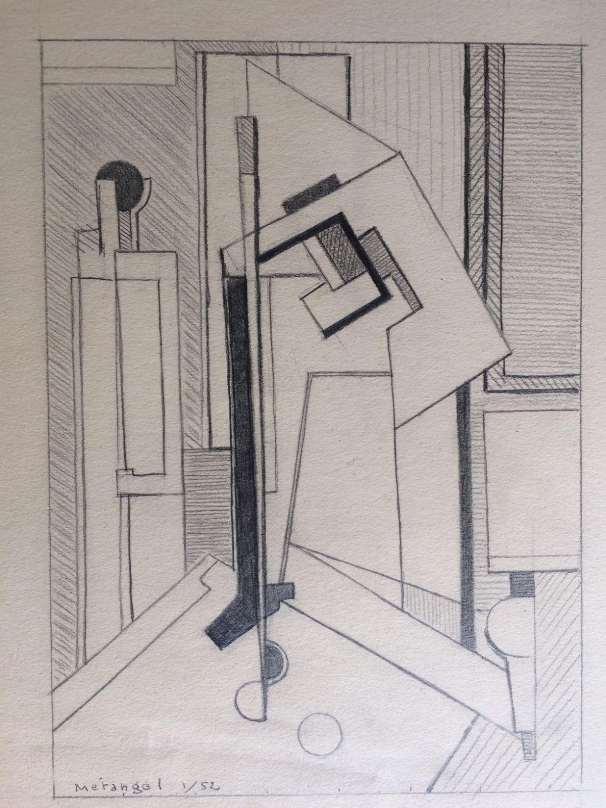 tableau cubiste Charles MERANGEL (1908-1993) école de PARIS sport Billard 1952 https://t.co/ulL8swCrcZ #Decoration https://t.co/PfOOXFmjp8