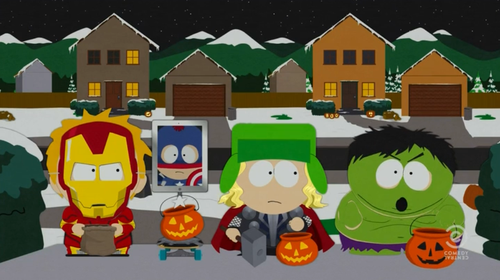 SOUTH PARK Does The Avengers....IM NOT SURE WEATHER I SHOULD PUT ...