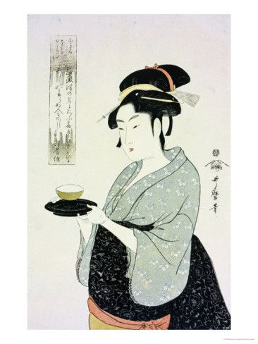 Image result for japanese art cup of tea