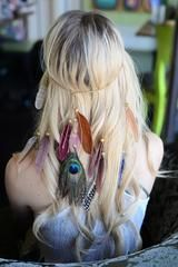 Boho Boutique Feather Headband