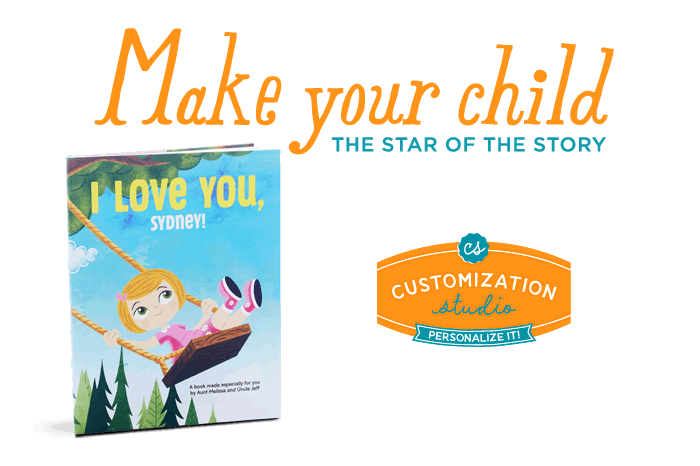 Make your child the star of the story