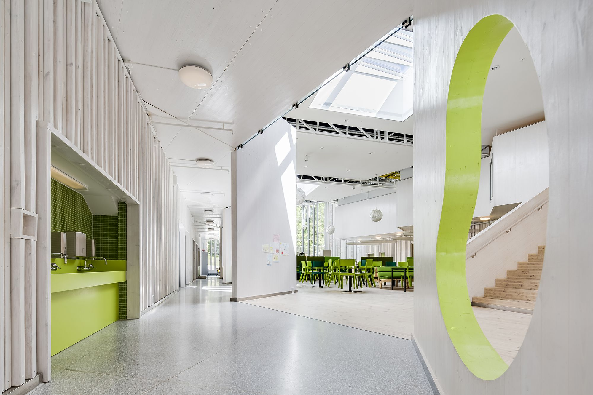 Our Goal For Brinkskolan Was To Create A Safe School Environment Which Puts  Pupils And Teachers First. As The Architects Of The Project, We Were Given  A ...