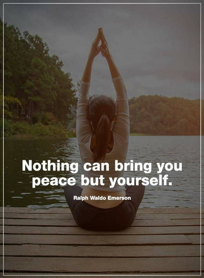 Peace Quotes Nothing Can Bring You Peace But Yourself Peace Quotes