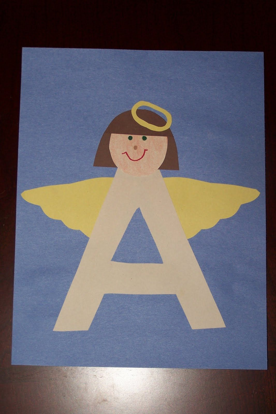 letter a projects for preschool the princess and the tot letter crafts uppercase 12931