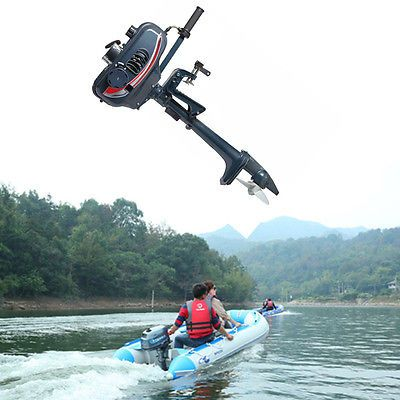 3.5HP Fishing Boat Engine Boat Engine 2-Stroke Outboard Motor CDI system 2.5kw