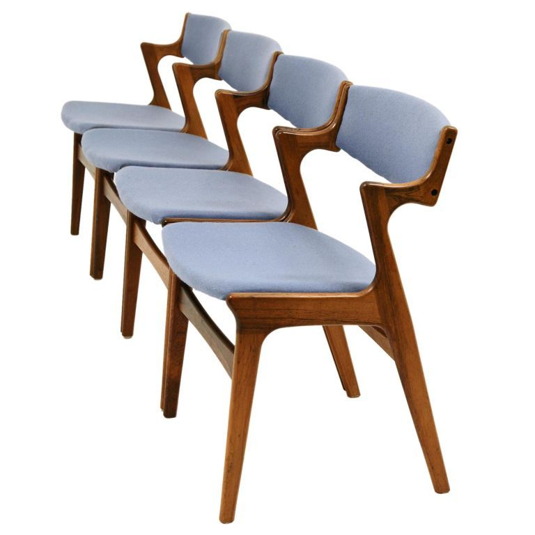 I Need These Rosewood Danish Modern Chairs By Nova Mobler