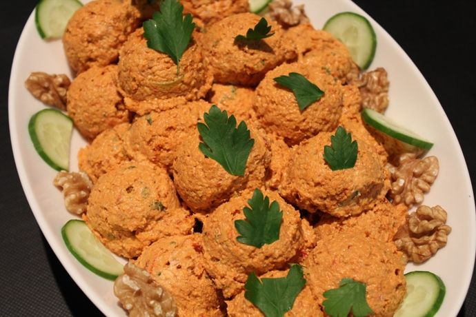Red Pepper Paste with Walnuts